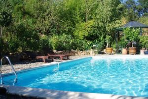 Location de vacances - Maison de charme avec piscine privative - Haulies
