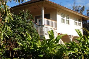 Location de vacances - Ocean View 1 BR Cottage Oceanfront Property. Permis - Paia