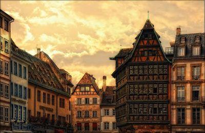 Maison Kammerzell-place de la carthédrale-Strasbourg-bas rhin-France
