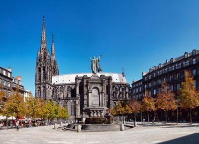 puy de dôme-clermont ferrand- cathédrale