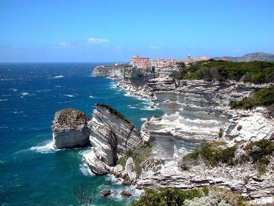 Bonifacio-Corse-Falaises