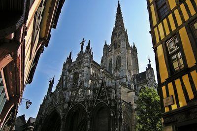 seine maritime-haute normandie-rouen-cathédrale