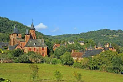 corrèze-limousin-collonges la rouge-village