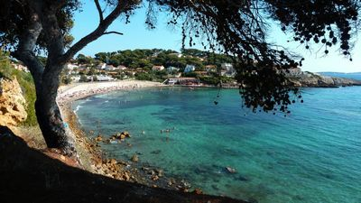 Baie de Portissol, Sanary-sur-mer. Var.